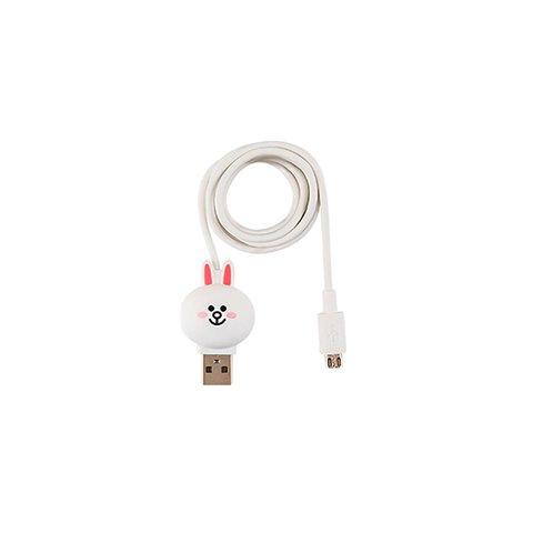 Micro USB 5 контактный кабель для подключения смартфона Line Friends – Cony