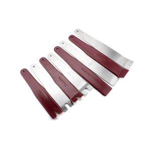 Набір інструментів для знімання обшивки сталь поліуретан, 8 предметів