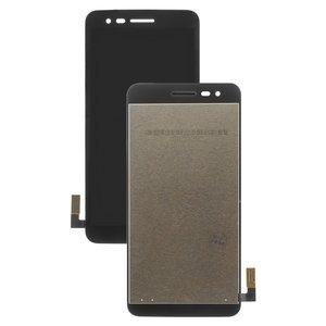 LCD LG K4 (2017) M160, Phoenix 3 M150, (black, with touchscreen, Original  (PRC))