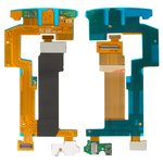 Flat Cable Blackberry 9810, (for mainboard, with components)