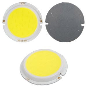 COB LED Chip 7 W (cold white, 450 lm, 43 mm, 300 mA, 15-17 V)