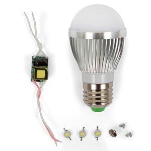 LED Light Bulb DIY Kit SQ-Q01 3 W (natural white, E27)