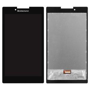 Pantalla LCD para tablet PC Lenovo Tab 2 A7-30HC, negro, con cristal táctil, #TV070WSM-TL0