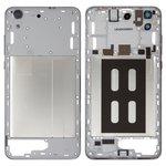 Parte media de carcasa puede usarse con Huawei Y6 II, negra, dual sim