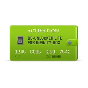 DC-Unlocker Lite активация для Infinity-Box/Dongle