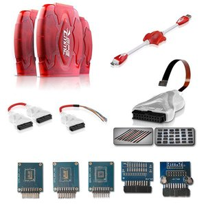 GPG EMMC Box c GPGPIN и кабелями (набор JIG-адаптеров GPG Easy 33-в-1)