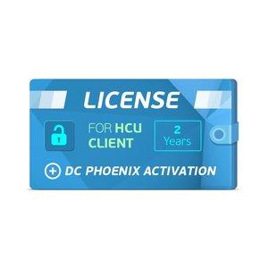 2-годовая лицензия клиента HCU + Активация DC Phoenix