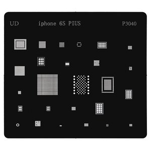 BGA-трафарет P3040 для мобільного телефону Apple iPhone 6S Plus, 26 in 1