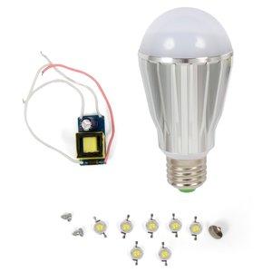 Комплект для збирання світлодіодної лампи SQ-Q17 7 Вт (природний білий, E27)