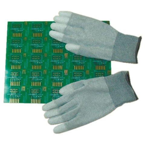 Антистатичні рукавиці Maxsharer Technology C0504 M з поліуретановим покриттям пальців