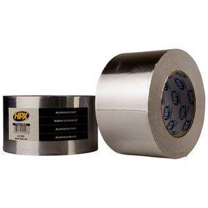 Лента алюминиевая односторонняя HPX 75 мм, 50 м, 0,04 мм