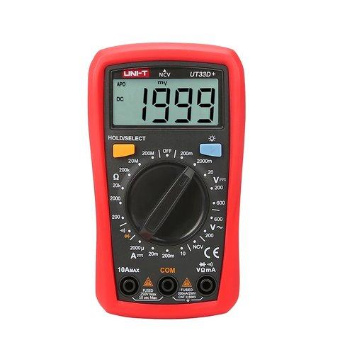 Кишеньковий цифровий мультиметр UNI T UTM 133D+ UT33D+