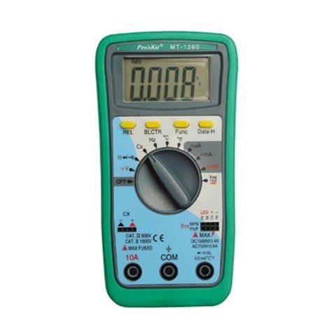 Цифровий мультиметр Pro'sKit MT 1260