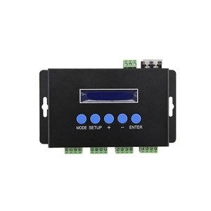 Световой Ethernet-SPI/DMX512-контроллер BC-204 (4 канала, 680 пкс, 5-24 В)