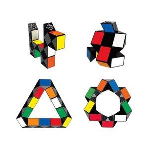 Головоломка Rubik's Змійка (різнокольорова)