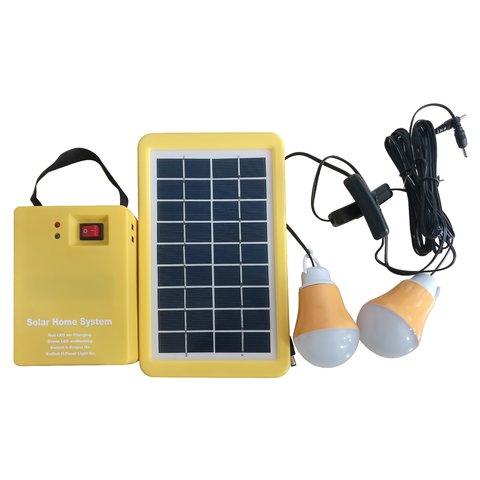 DC Portable Solar Power System, 3 W, 12 V 3 Ah, Poly 18 V 3 W