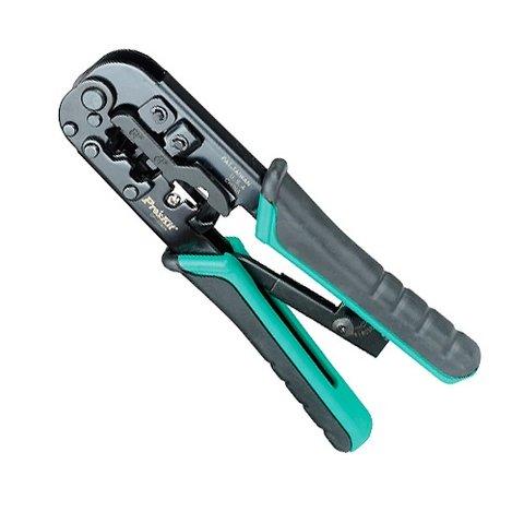 Telcom Crimping Tool Pro'sKit CP 376TR for 4P 6P 8P